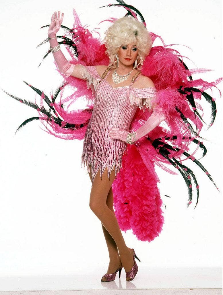 Drags to riches: Lily Savage
