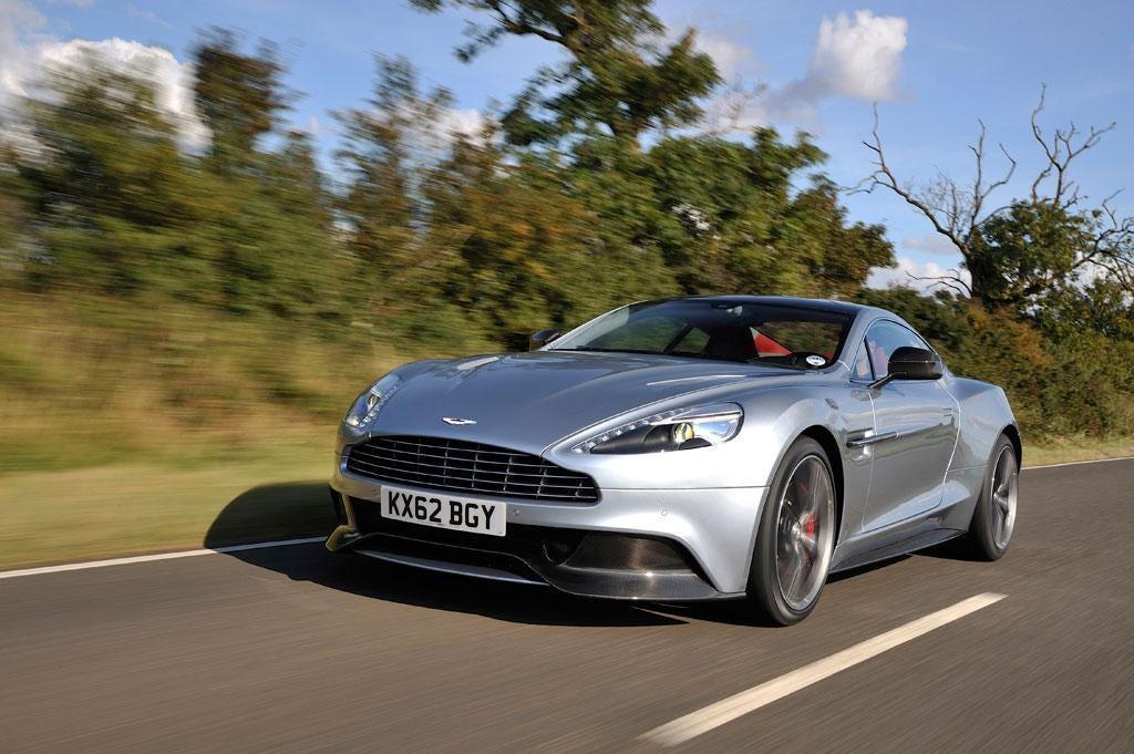 The new Aston Martin Vanquish is a beautifully built powerhouse