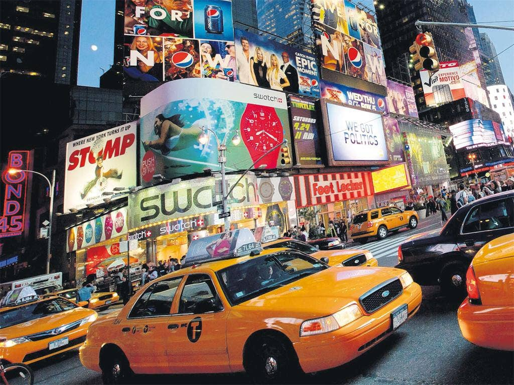Cool for cabs: New York City's celebrated yellow taxis