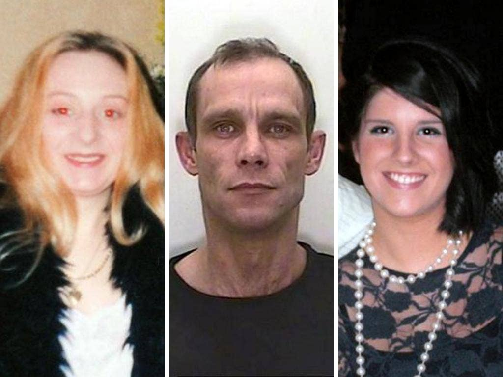 Christopher Halliwell, 48, pleaded guilty to killing Sian O'Callaghan (right) but charges relating to the death of Becky Godden-Edwards were dropped