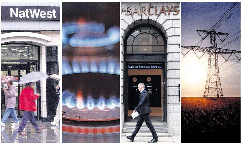 We're all in it together: Banks and energy companies are accused of letting their customers down