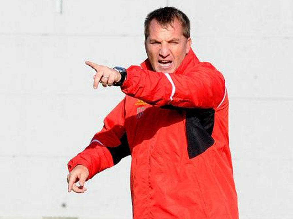Brendan Rodgers' Liverpool sit 14th in the Premier League