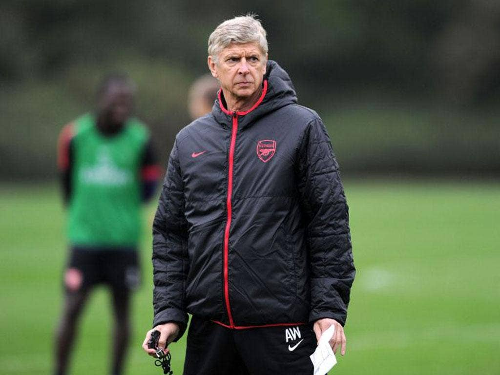 """Wenger: """"He [Wilshere] goes for every challenge in training with no apprehension"""""""
