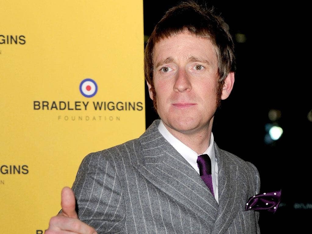 Rule of thumb: Bradley Wiggins is favourite to win Sports Personality