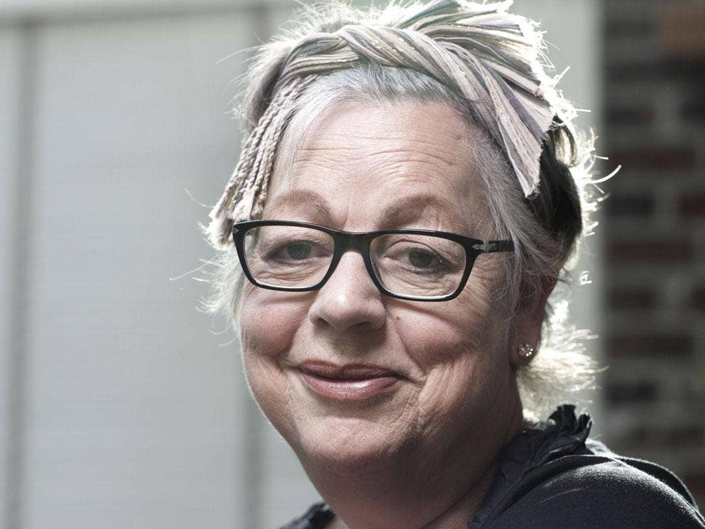Jo Brand says she's mellowed a lot