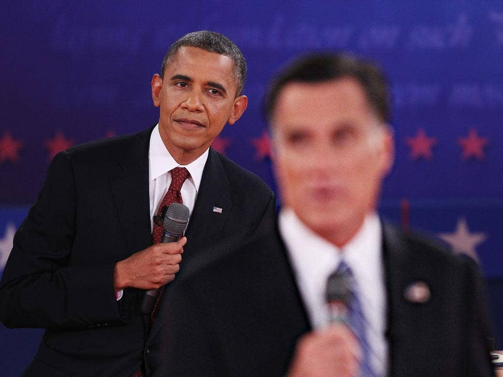 Last week's debate with Barack Obama and Mitt Romney