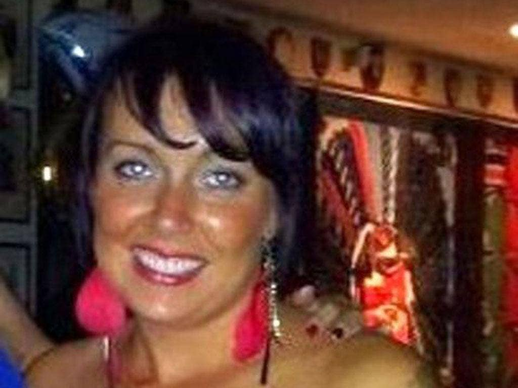 Karina Menzies, who was killed in Cardiff on Friday