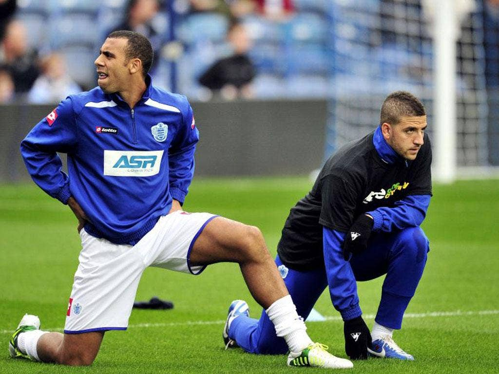 Anton Ferdinand joined his brother Rio and refused to wear the shirt