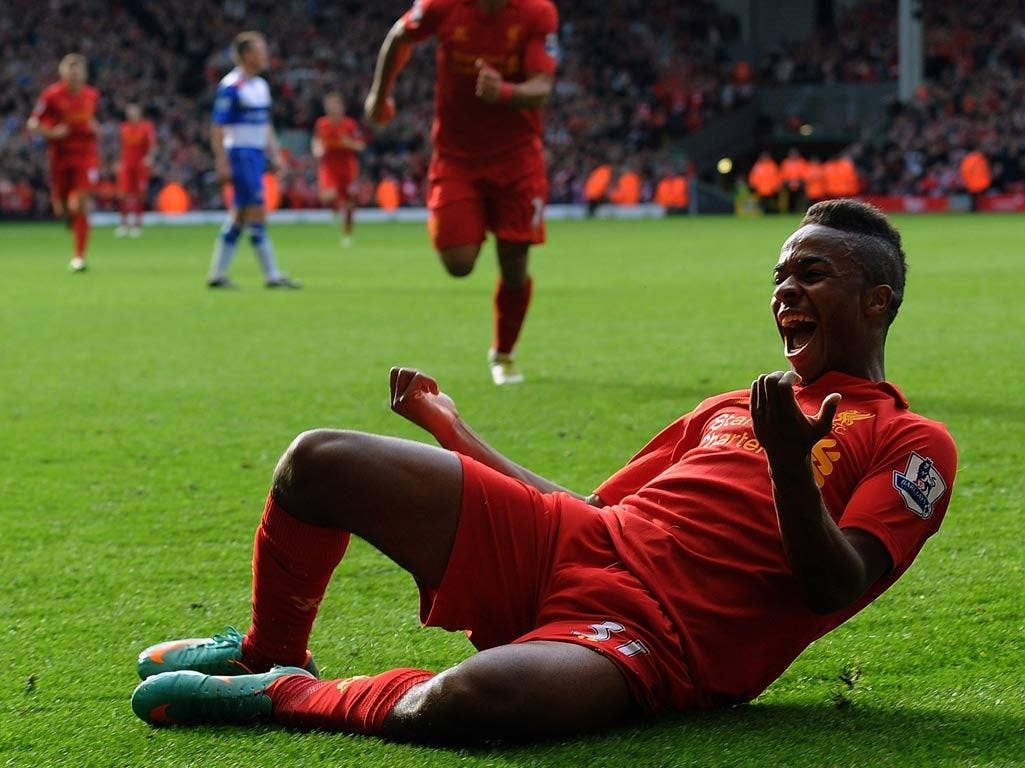 <b>Raheem Sterling (17 years, 317 days), LIVERPOOL v Reading (20/10/12)</b><br/>  Having scored his debut league goal against reading on Saturday, Sterling becomes Liverpool's second youngest goal scorer. The Jamaican-born winger has represented England a