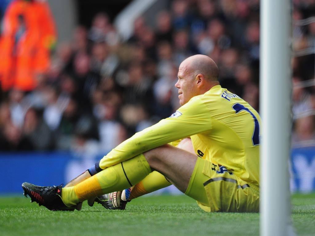 Tottenham goalkeeper Brad Friedel