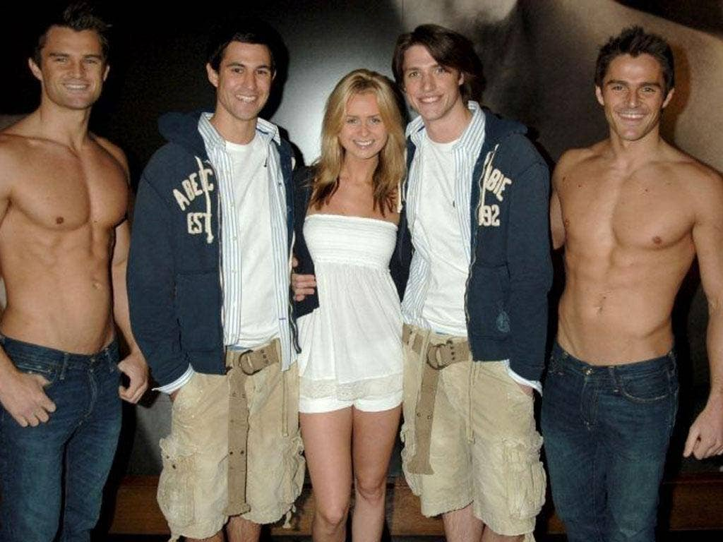 Abercrombie & Fitch is well known for employing young, attractive staff