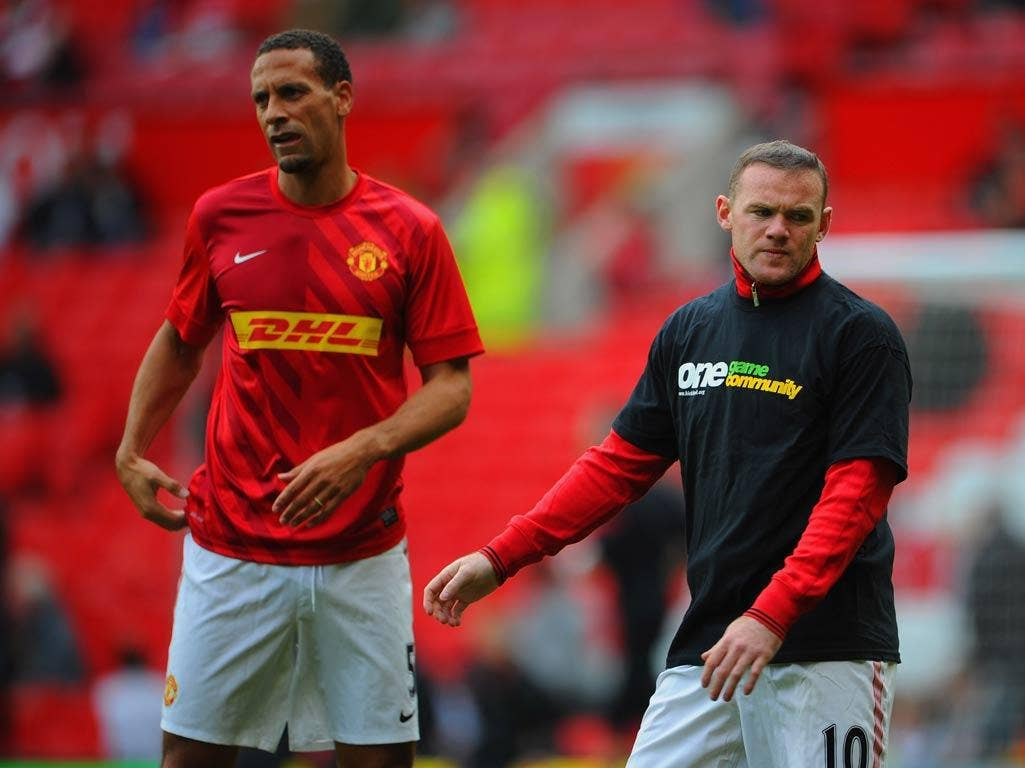 Rio Ferdinand chose not to wear a Kick It Out T-shirt