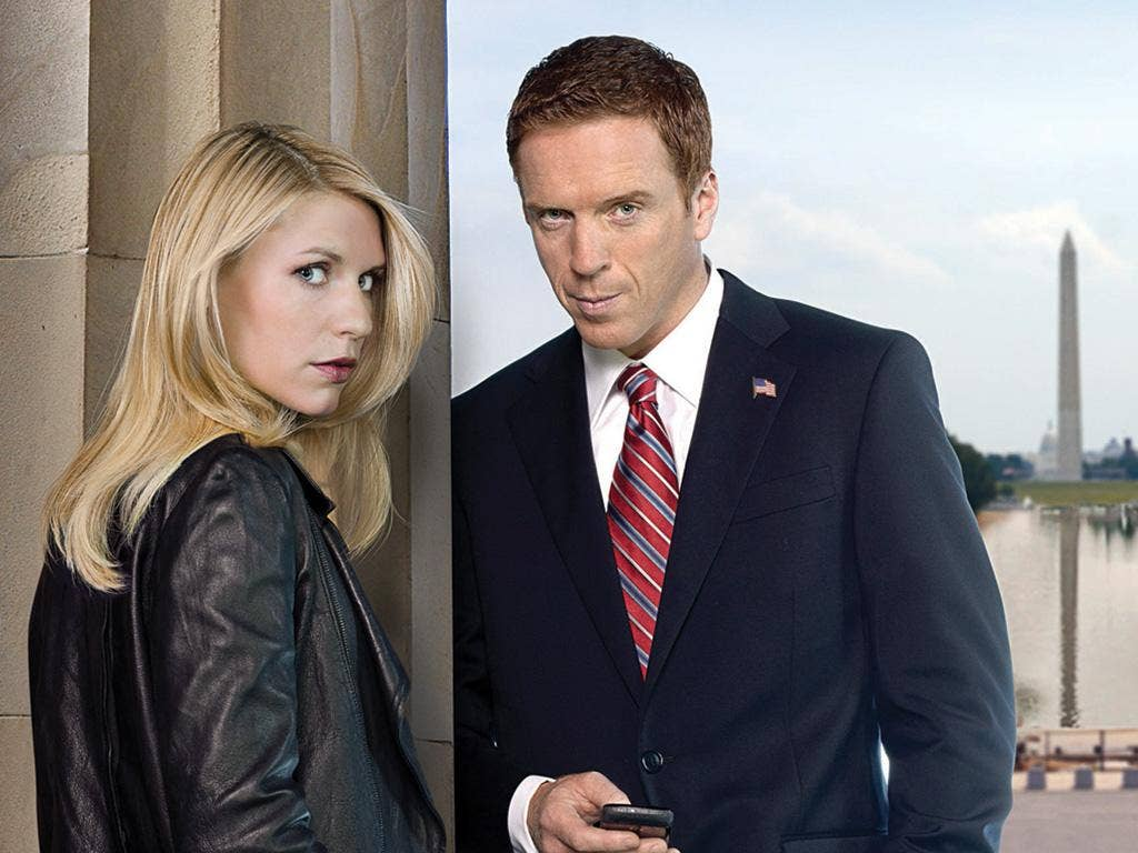 'Homeland' stars Claire Danes and Damian Lewis