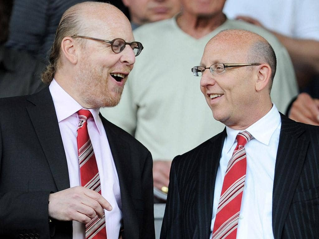Manchester United Executives Avram and Joel Glazer