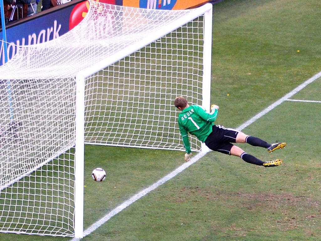 Frank Lampard and England were denied a clear goal against Germany at the last World Cup