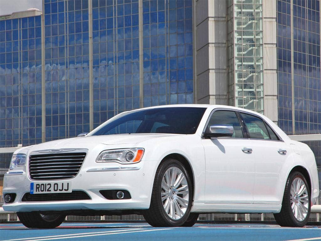 Spectacularly smooth: the Chrysler 300