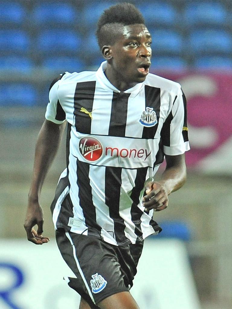 Sammy Ameobi will play alongside his older brother, Shola, tonight