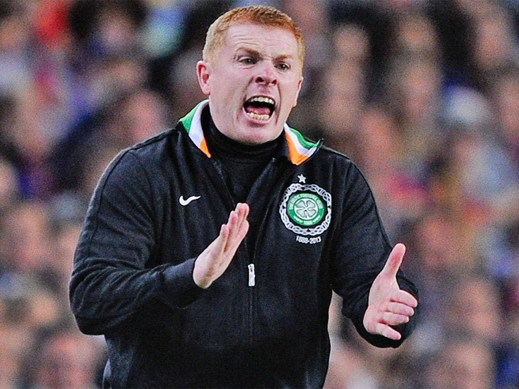 Neil Lennon's side won praise in Spain for the way they took on Barcelona