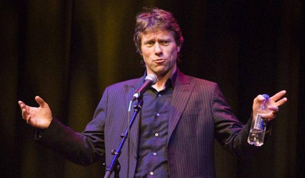 Pedestrian flats and tickling highs are exactly what you get with John Bishop's latest offering