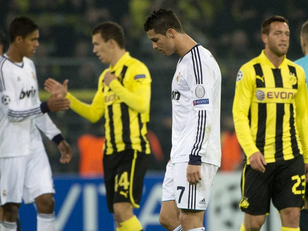 Real Madrid slipped to defeat in Dortmund