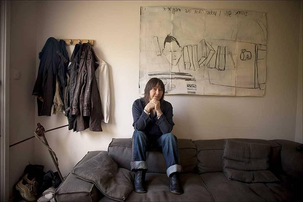 Ghostly visitations: Ali Smith at her office in Cambridge
