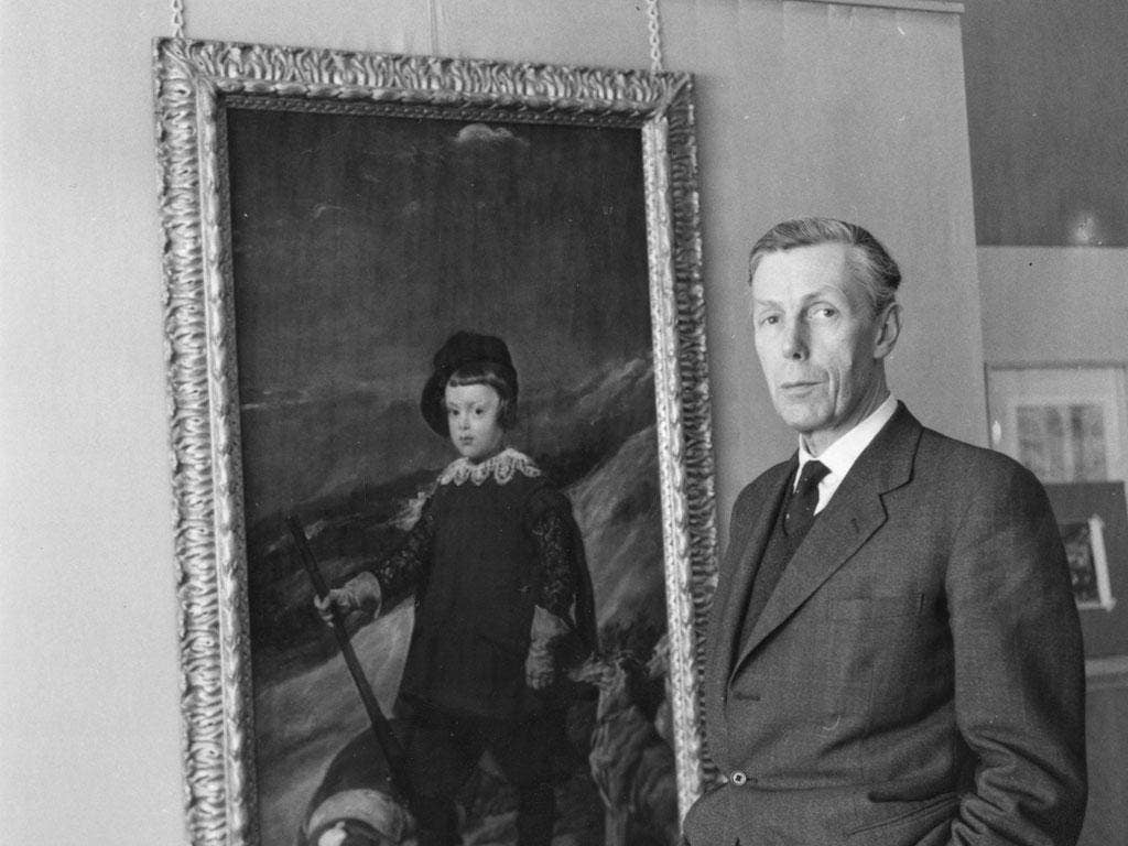 Anthony Blunt in 1962, when he was Surveyor of the Queen's Pictures. He was later exposed as a Soviet spy