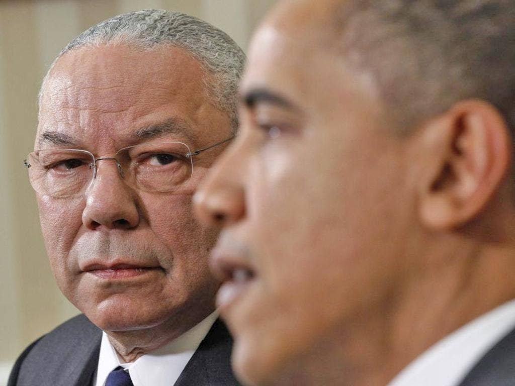 Colin Powell ignited a firestorm among Republicans for endorsing Barack Obama