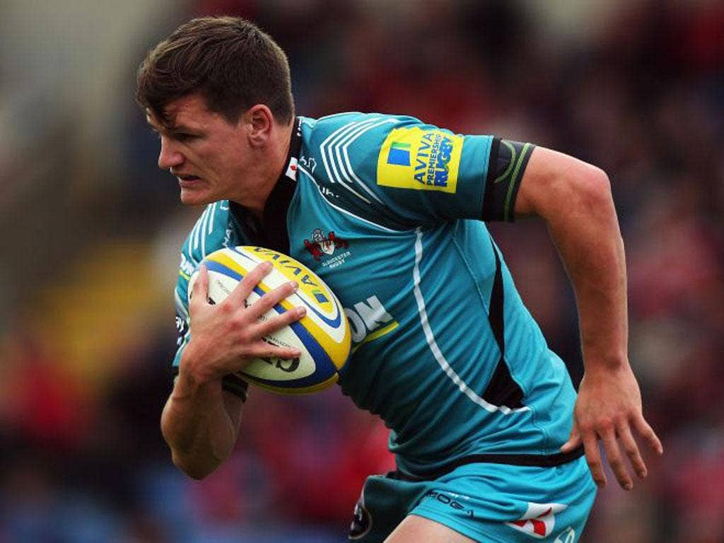 Gloucester's Freddie Burns has a point to prove against Leicester