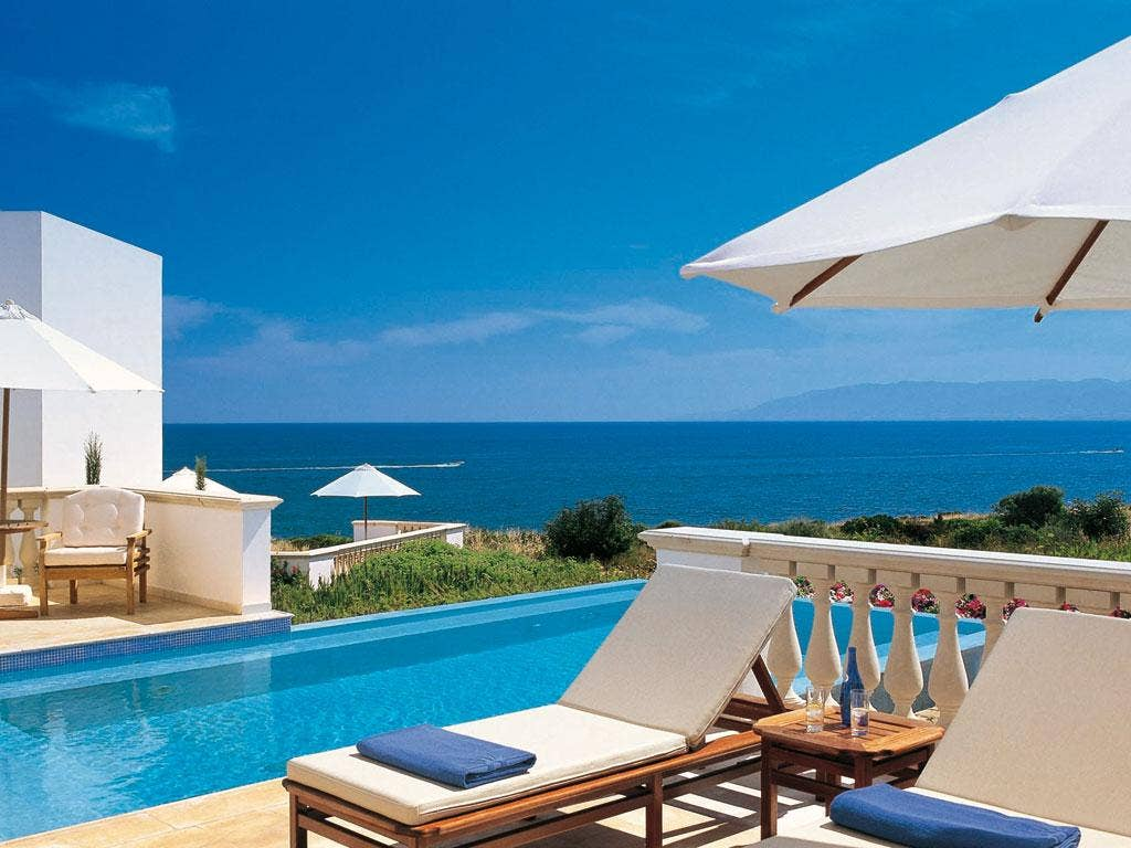 Reborn: The Thalasso Spa at Anassa Beach Resort in Cyprus offers non-surgical alternatives to facelifts