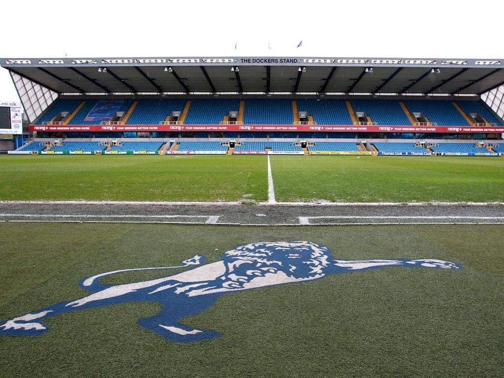Den of hope: Millwall held a workshop called 'It doesn't have to happen' and are staging Jimmy's Day in December