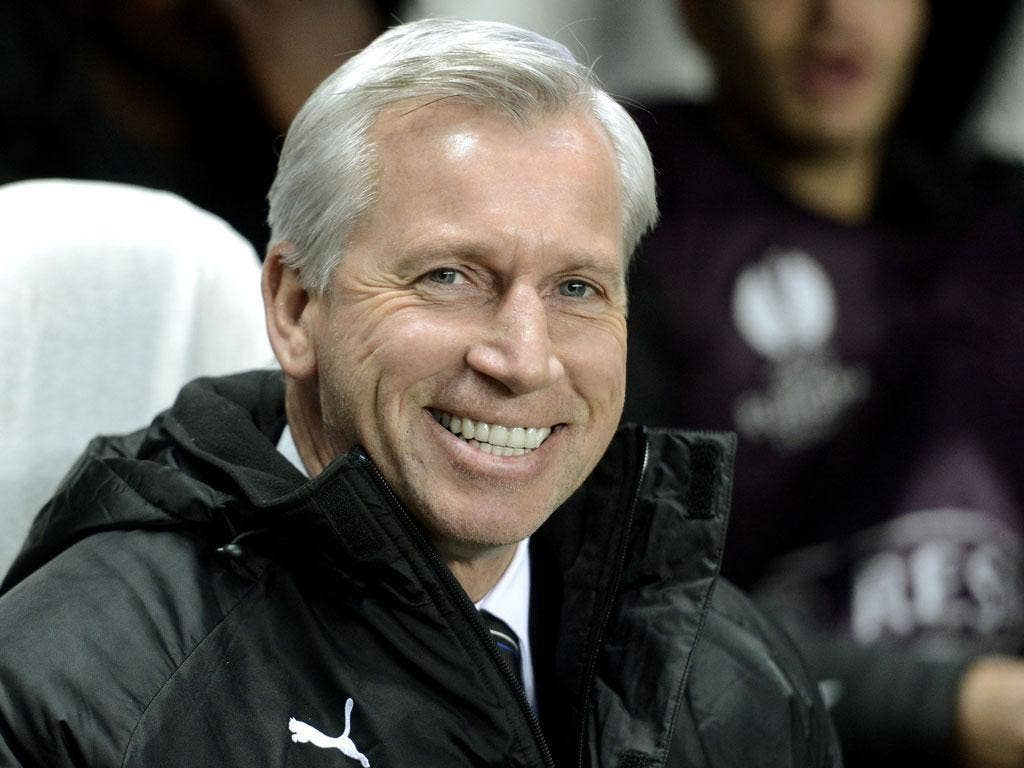 All smiles: Alan Pardew believes his time behind the scenes at Reading prepared him for a starring role at Newcastle