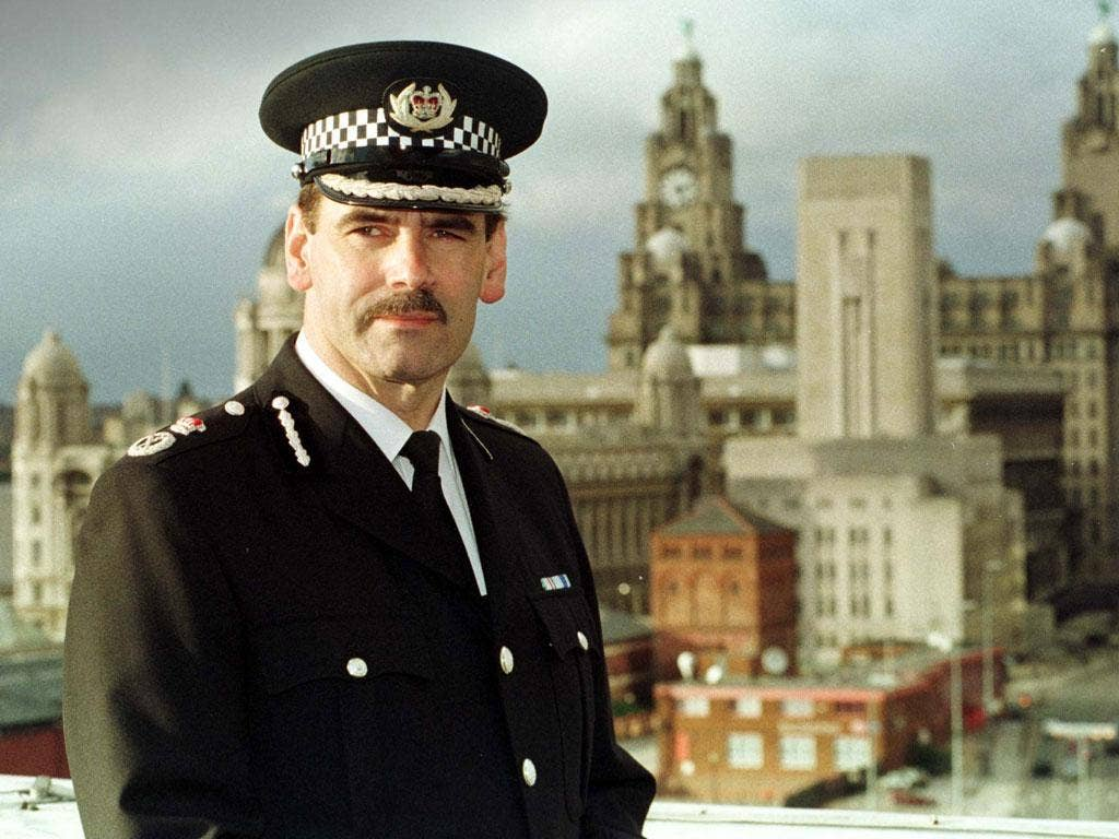 Past life: Sir Norman Bettison in 1998