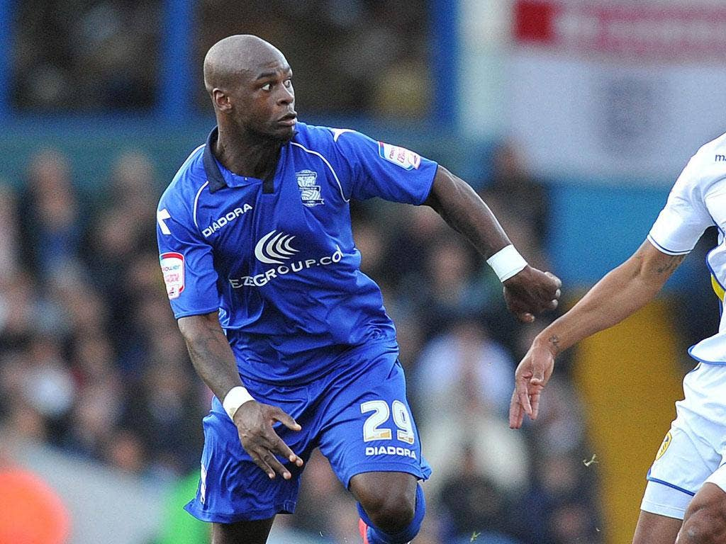 Birmingham triumphed thanks to a remarkable goal powered in by Leroy Lita (pictured) from a distance of more than 30 yards in the 76th minute