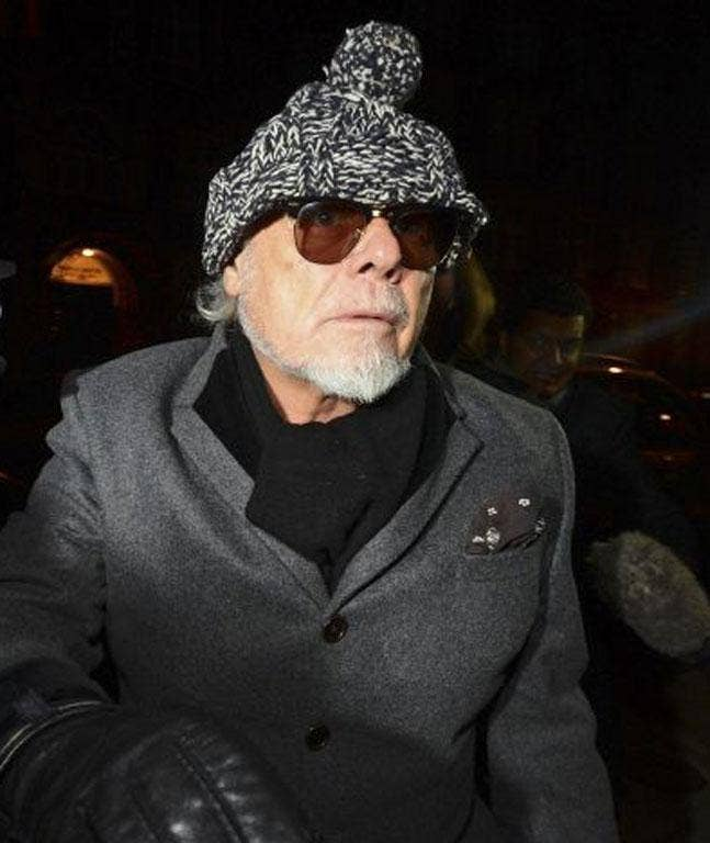 Former British pop star Gary Glitter returns to his home this evening following his arrest earlier as part of the investigation into the Jimmy Savile sex abuse allegations.