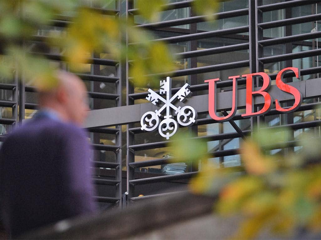 UBS lost £40bn during the financial crisis