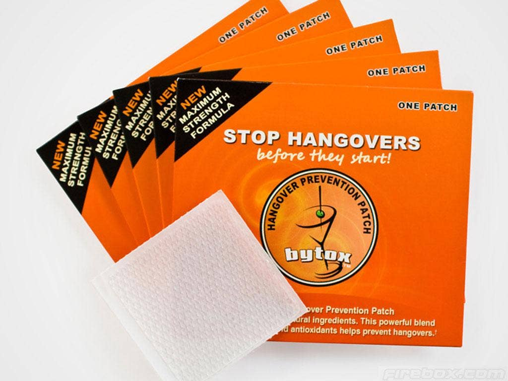 The 'Hangover Patch' being sold by Firebox.com