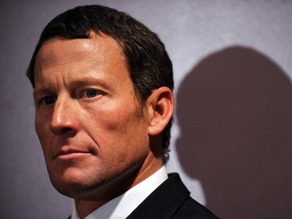 Shamed: Lance Armstrong was stripped of his titles, and now an effigy of him will be burned on Guy Fawkes' night