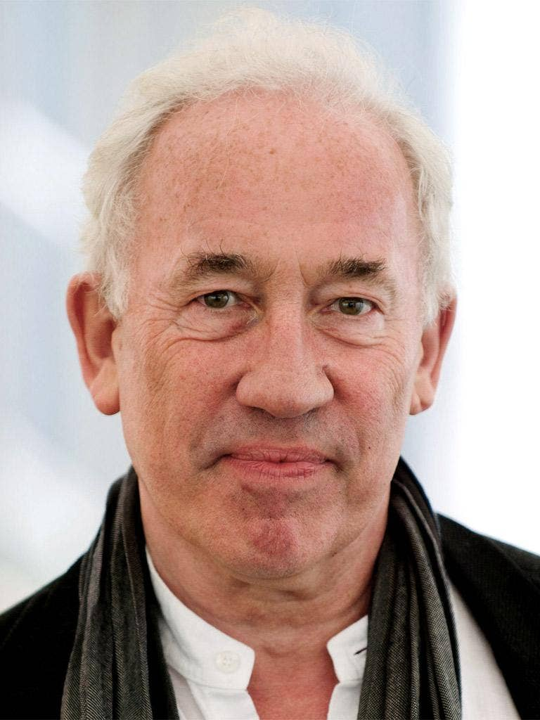 Hard to swallow: 'Tasting Notes' presenter Simon Callow