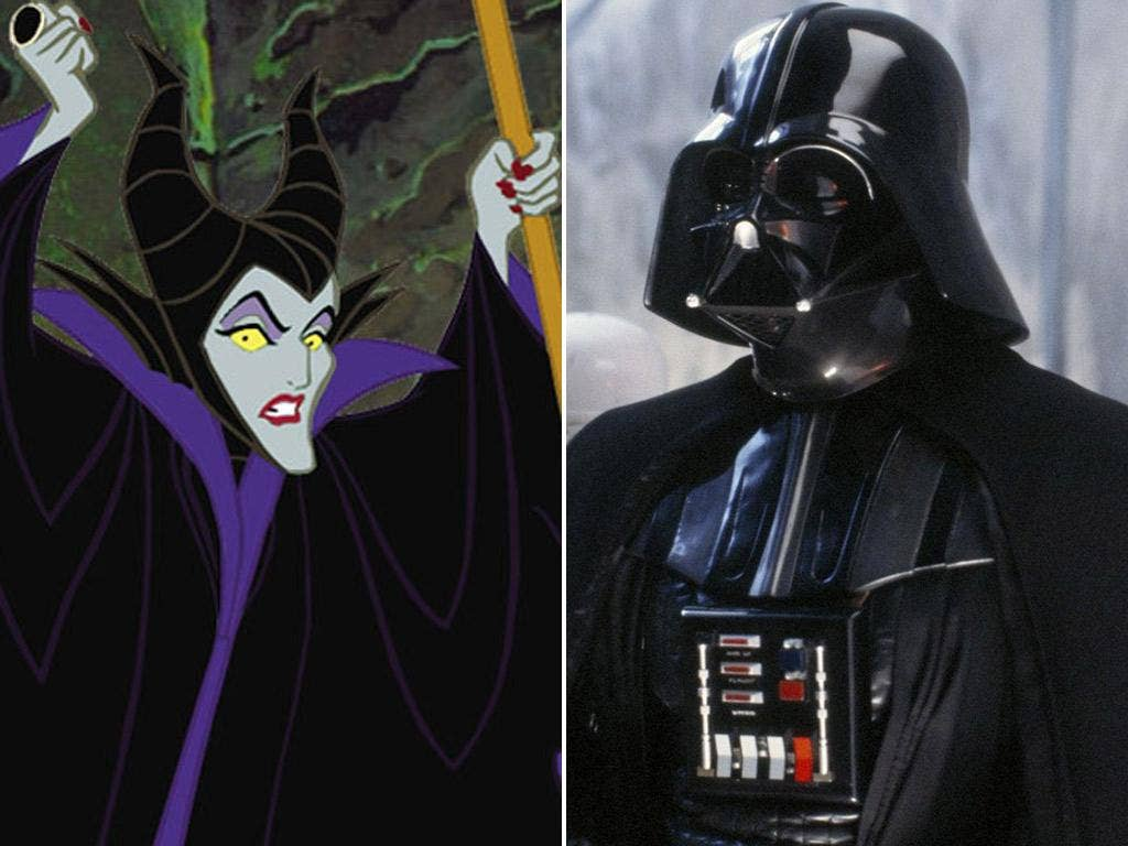 Who's scarier? Maleficent (Sleeping Beauty) vs Darth Vader (Star Wars)