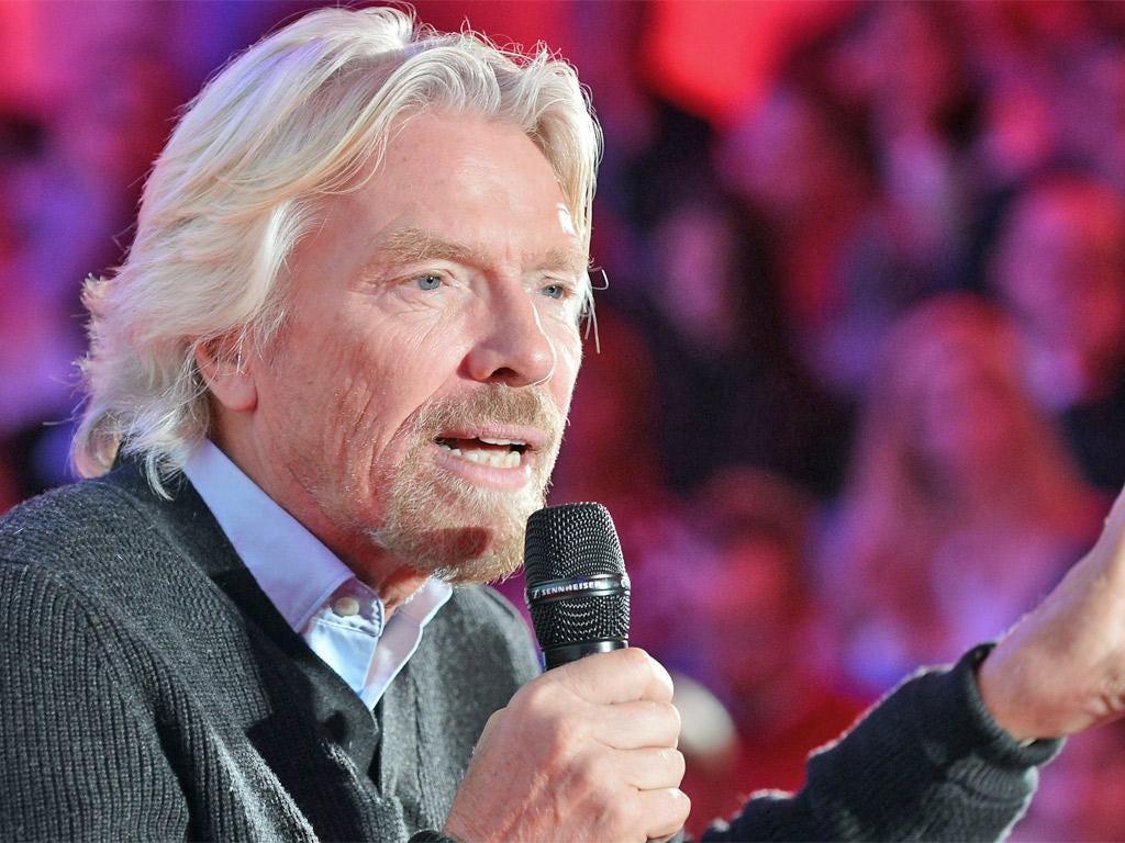 Sir Richard Branson, founder of Virgin