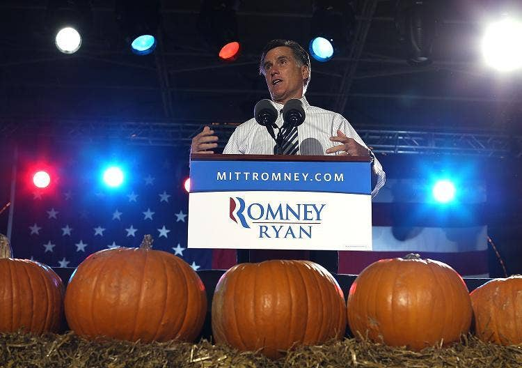 Mitt Romney: Careful to balance campaigning with concern for the storm damage