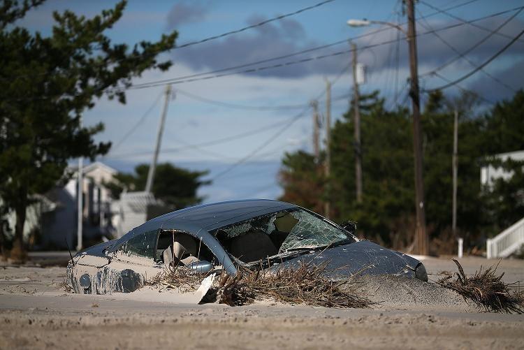 Hurricane Sandy has left devastation in its wake