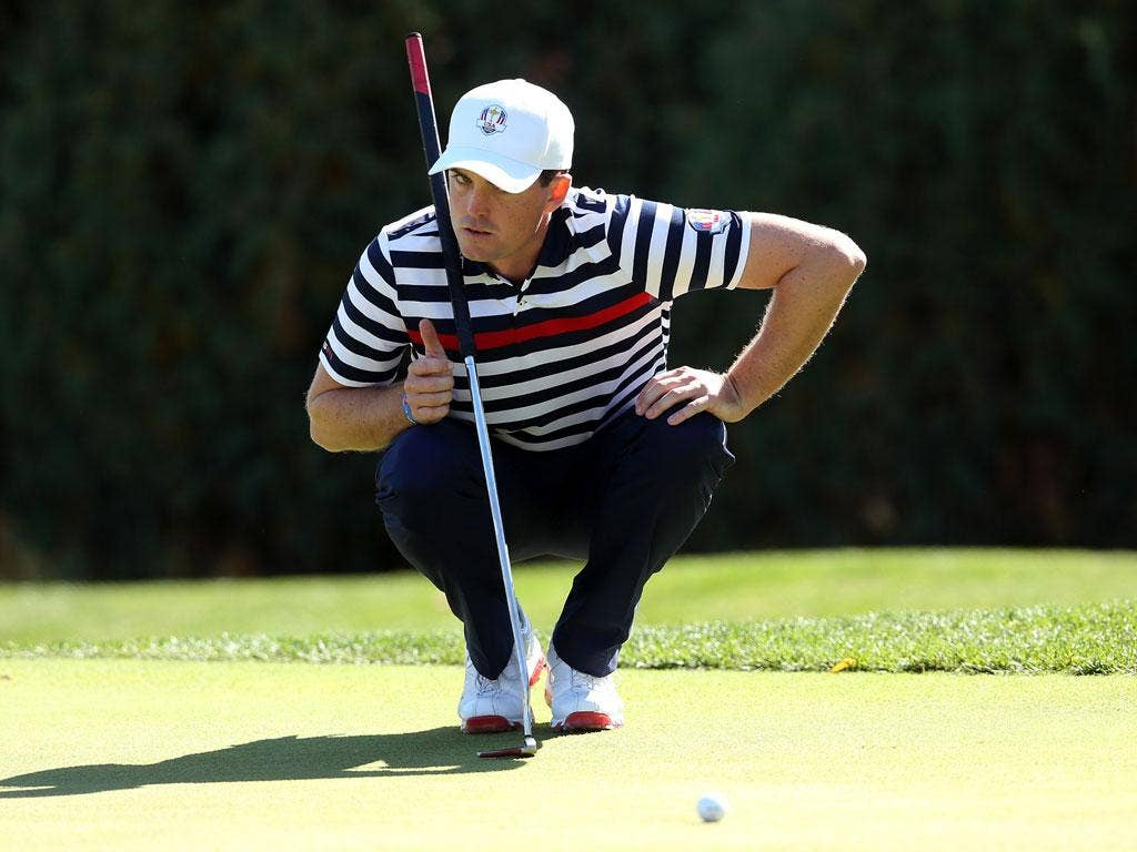 Keegan Bradley says he will take legal action if the belly putter is banned