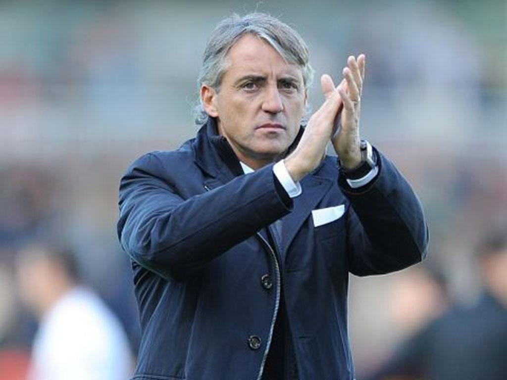 The Manchester City manager, Roberto Mancini, had previously held talks over managing Monaco