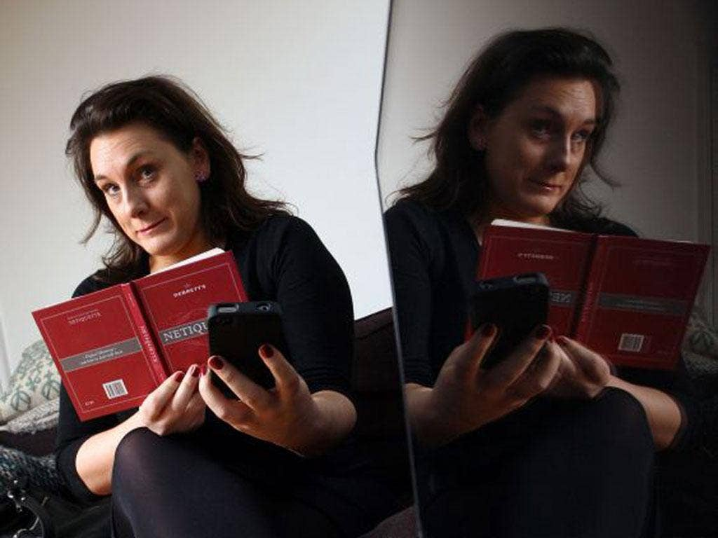 Grace Dent polishes up her internet manners with help from Debrett's