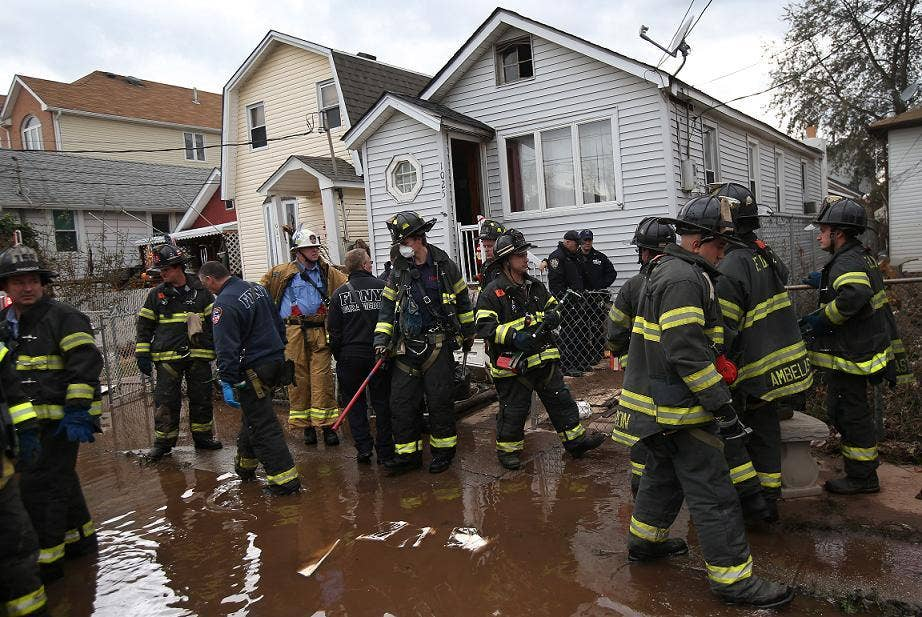 The clear-up after Hurricane Sandy is causing frustration