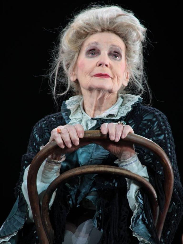 Galina Konovalova plays an ageing actress in 'The Haven'