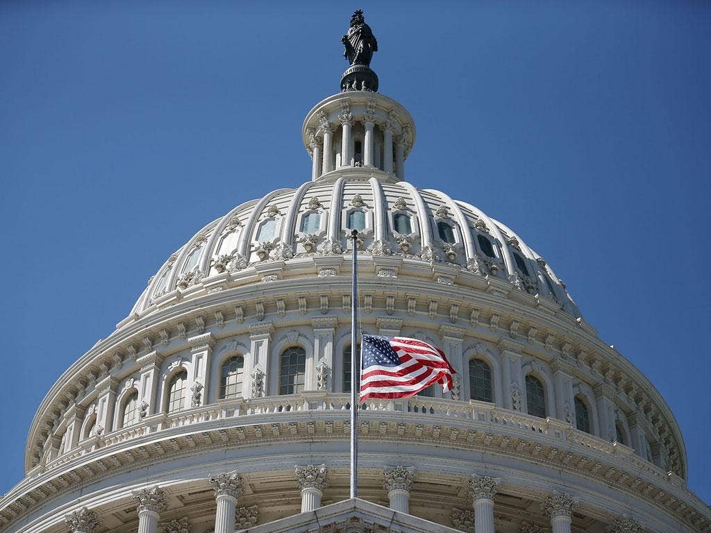 The fight for the US Capitol is on