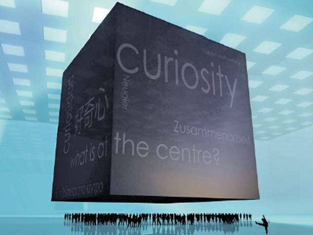 Testing people's new will is a game called Curiosity