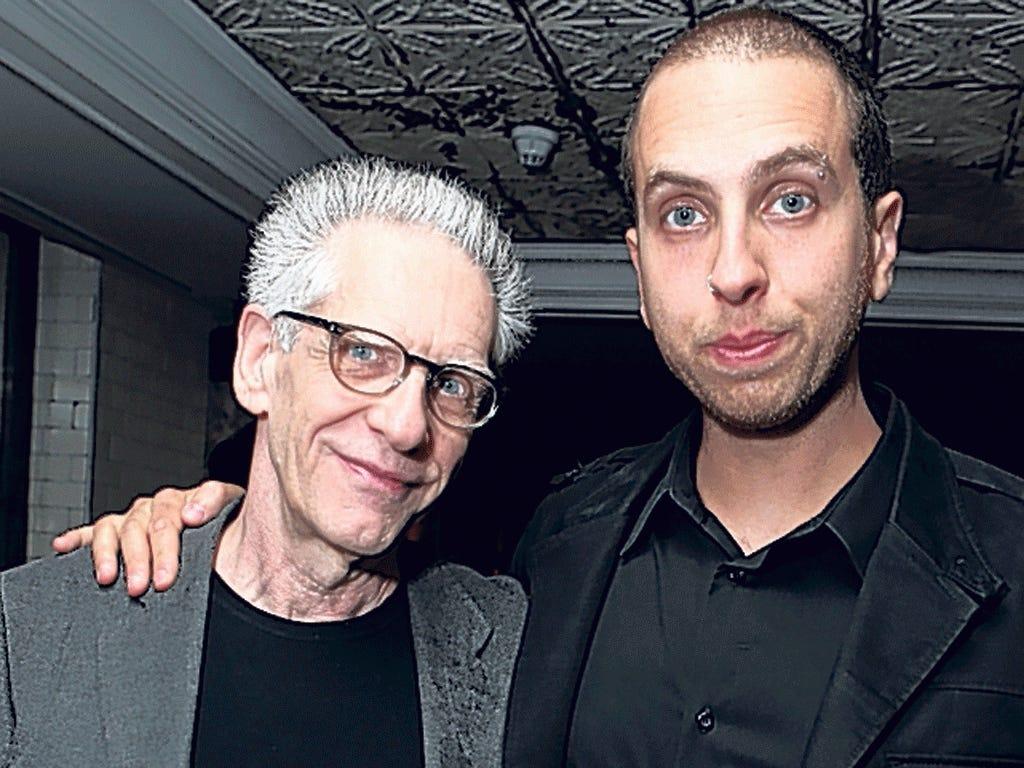 Father and son: David and Brandon Cronenberg